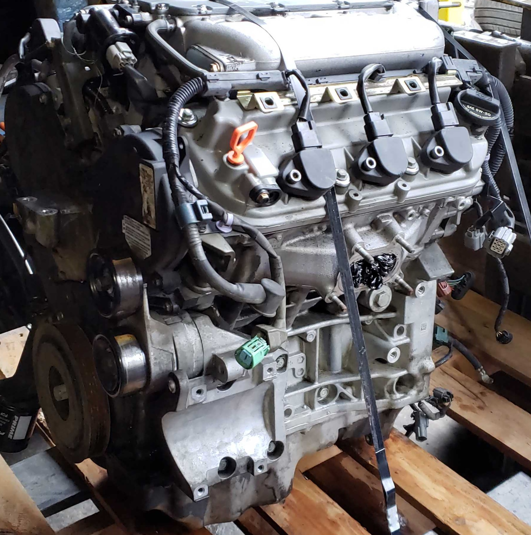2004 Acura TL Engines